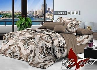 Комплект постельного белья с компаньоном 1708 полуторный (TAG поплин (1,5-sp)-023)