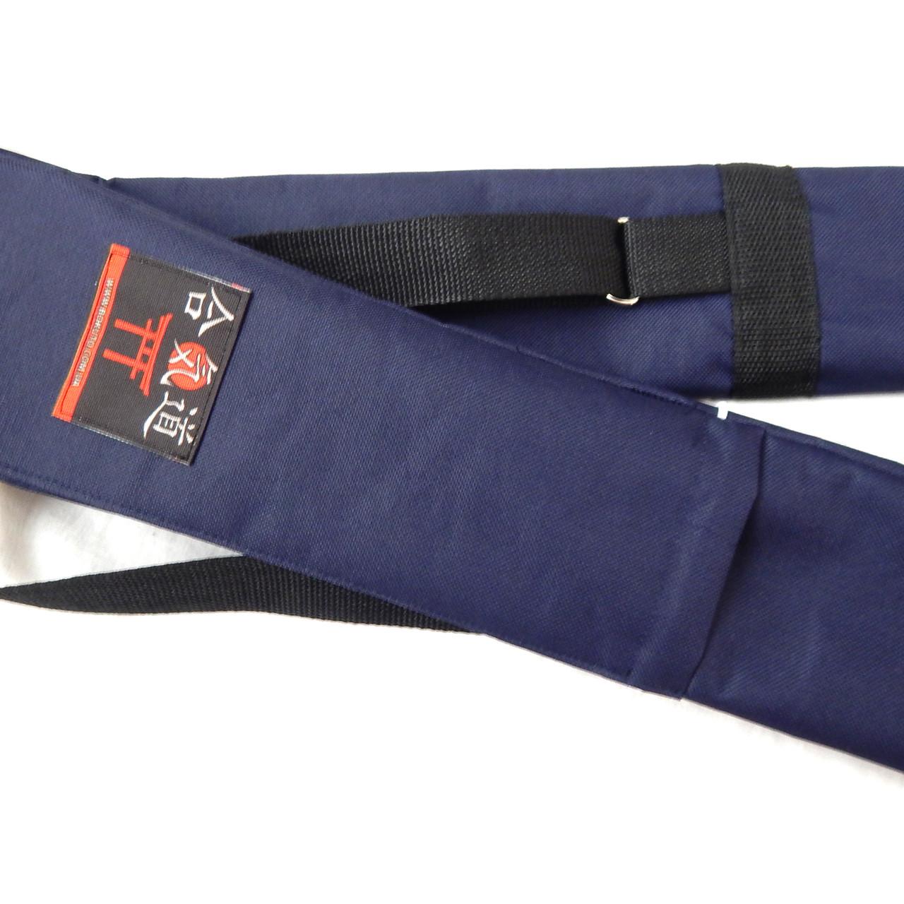 Чехол плотный для оружия с карманом темно-синий (145 см) - Интернет магазин Bokuto Sport в Киеве