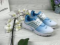 Кроссовки женские Nike Air Presto (голубые), ТОП-реплика, фото 1