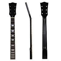 Электрическая гитара Шея для запасных частей для гитары Rosewood Maple 22 Fret Finger Board Black