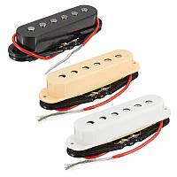 3 штук Alnico 4 Electric Guitar Single Coil Pickup Шея Комплект для установки среднего моста