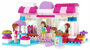 Конструктор JDLT  Модный дом для кукол, фото 2
