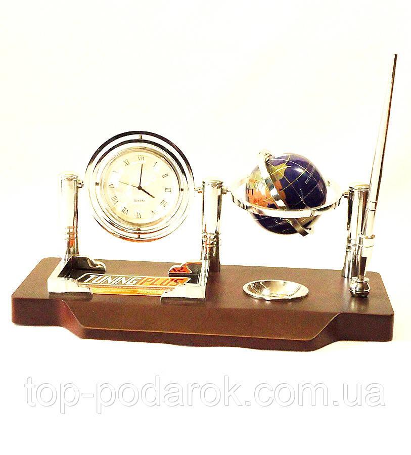 Офисный набор настольный с часами-Баланс