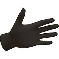 Рукавички нітрилові, BLACK easyCARE - 100 шт/уп, L, фото 1