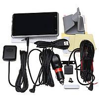 5 Smart Авто Dual камера Вай-фай GPS Bluetooth Позвоните по телефону 170 ° 1080P HD Зарядное устройство для видеозаписи Для iphone X