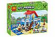 "Конструктор лего майнкрафт Аналог Lego Minecraft Lele 33019 ""Домик на морском побережье"" 470 дет, фото 2"