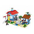 "Конструктор лего майнкрафт Аналог Lego Minecraft Lele 33019 ""Домик на морском побережье"" 470 дет, фото 4"