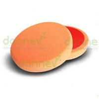 """Плоский поролоновый пад средней жесткости, оранжевый 6""""(ø150мм x 25мм)"""