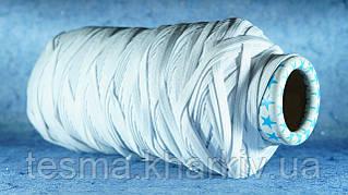 Лента эластичная 10 мм белый