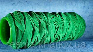 Лента эластичная 10 мм зелёный