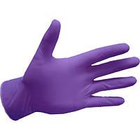 Рукавички нітрилові, lavender Abena (Данія) - 100 шт/уп, M, фото 1