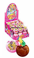 Яйцо шоколадное шар Crazy Girls 24 шт 35 г (ANL)