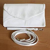 Женская сумочка-клатч. № 09 белый цвет.