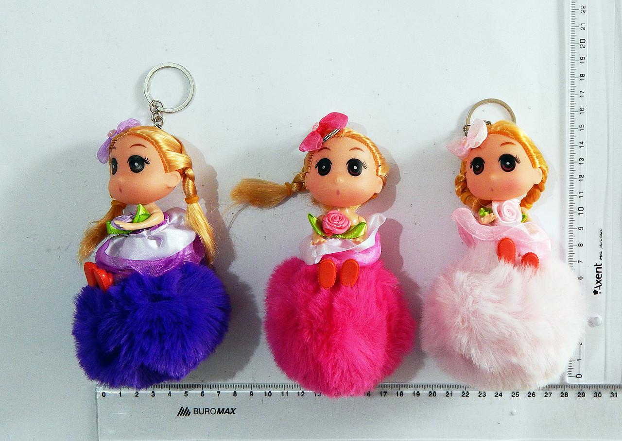 Брелок куколка с пампоном
