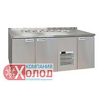 Холодильный стол SL 3GNG Carboma (T70 M3sal-1-G INOX)Полюс