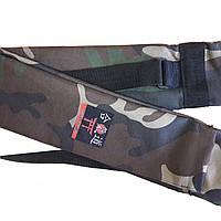 Чехол плотный для оружия с карманом камуфляж (145 см)