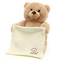 Cute Bopeep Bear Plush Фаршированный PP Cutton Смешные выражения Рождественский подарок игрушка