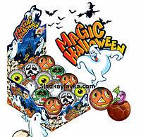 Яйцо шоколадное шар Magic Halloween 24 шт 35 г (ANL)