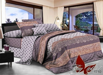 Комплект постельного белья с компаньоном 1710 полуторный (TAG поплин (1,5-sp)-025)