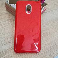Силиконовый чехол на Meizu M6 Rainbow Collection Red