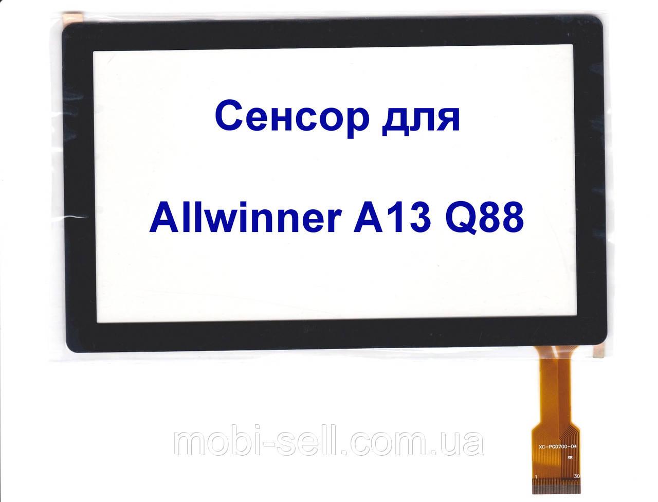 Сенсорный экран для планшета AllWinner A13 Q88