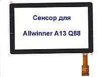 Сенсорный экран для планшета AllWinner A13 Q88, фото 1