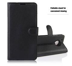 Чехол для Motorola Moto G5 (XT1676)  книжка кожа PU черный