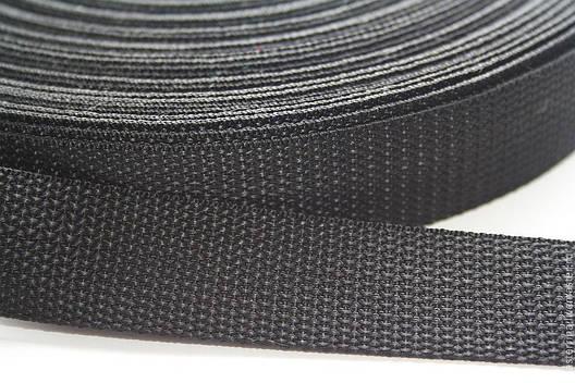 Лента для сумок, рюкзаков синтетическая (шлея) 25 мм - 50 м, фото 2