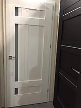 """Двери Verto Лада-Лофт 4.0 в цвете Кора белая """"Verto LINE-3D"""""""