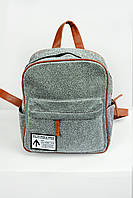 Рюкзак женский Shine серебряный