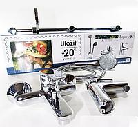 Набор смесителей для ванной  IMPRESE kit20080