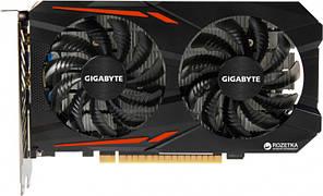 Видеокарта GIGABYTE Nvidia Geforce GTX 1050 Ti OC 4Gb