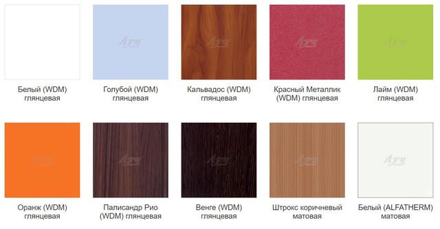 Цветовая гамма - МДФ плёнка (Фото 2)