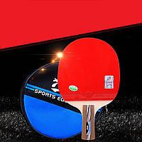Ракетка для настольного тенниса 729 № 2020 (набор для настольного тенниса): ракетка+чехол+2 мячика