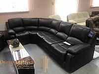 Угловой кожаный диван модель Боас