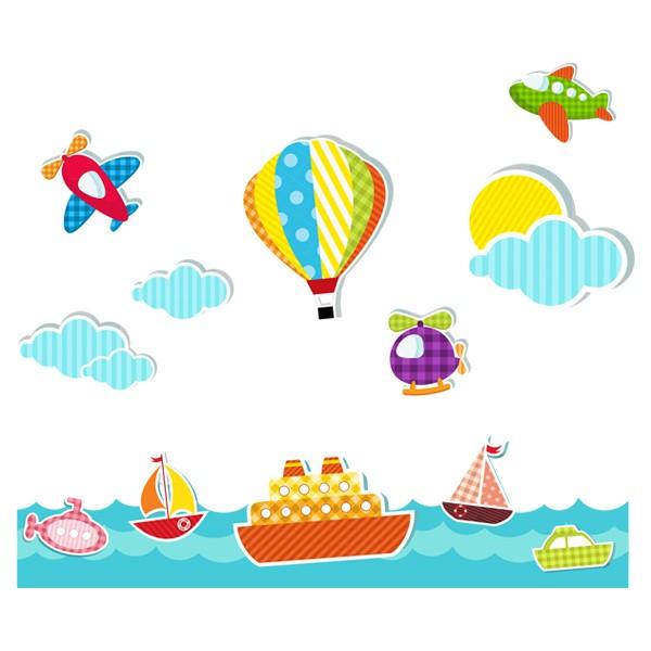 Наклейка в Детскую Voyage