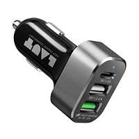 АЗУ Laut Car chargers (LAUT_PD05_BK) Black