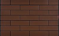 Клинкернаяплитка для фасадов CerradКоричневая гладкая 6,5х24,5