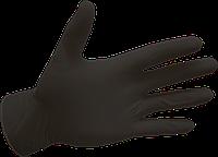 Рукавички нітрилові, чорні Black Panther - 100 шт/уп, M