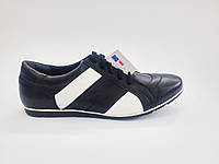 Польские мужские кожаные спортивные туфли Skrzynski 174