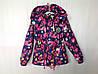 Демисезонная куртка для девочки 5-8 лет Розница +80гр