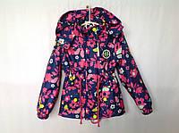 Демисезонная куртка для девочки 5-8 лет Розница +80гр, фото 1