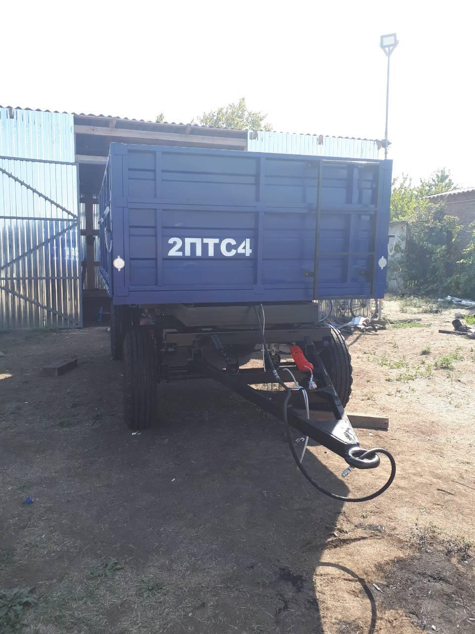 Прицеп тракторный 2ПТС-4.