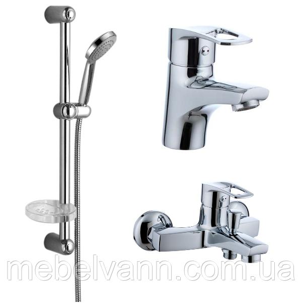 Набір змішувачів LIDICE для ванни, IMPRESE 05095+10095