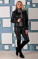 Куртка женская стильная из эко-кожи (2)