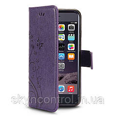 Шкіряний чохол для iPhone 6/6s ( iPhone 6 6S Case, Korecase iPhone 6/6S Leather Flip Case Cover Purple)