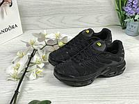 Кросівки жіночі Nike 95 TN (чорні), ТОП-репліка, фото 1