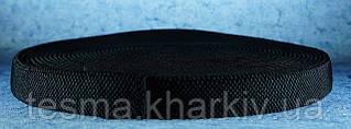 Резинка для подтяжек 30 мм чёрные пупырышки