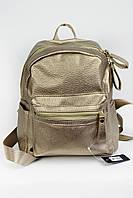 Рюкзак женский из эко-кожи капучиновый