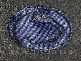 Нашивка Helly Hansen темно синій 70x50 мм